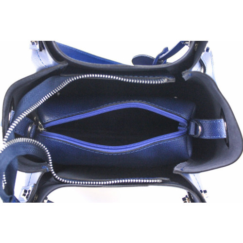 Marilyn , Leather Handbag and Shoulder Bag , Made in Italy , Black Image