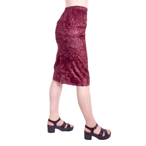 fur coating skirt Image