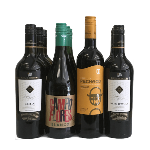 Introductory Organic Wine Club Case of 12 Mixed Wines Image
