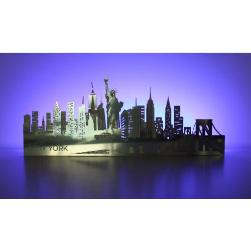 Light-up New York Skyline Image
