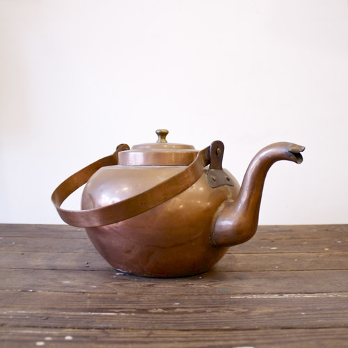 Copper teapot Image