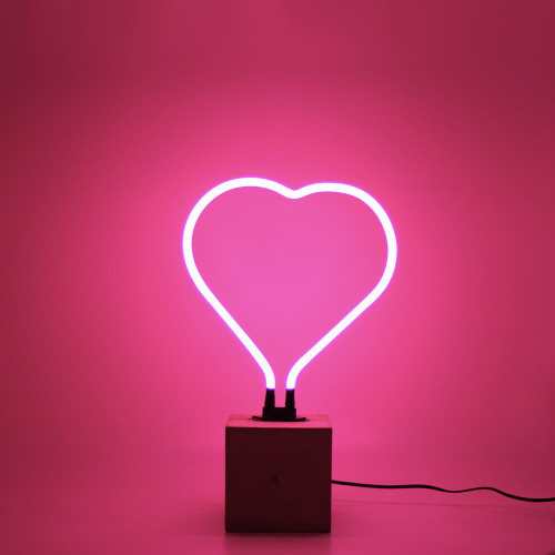 Neon Heart Sign Image