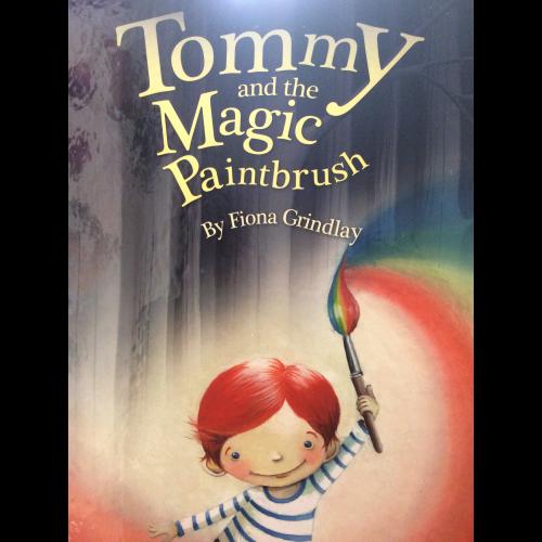 Tommy and the magic paintbrush.Hardback Image