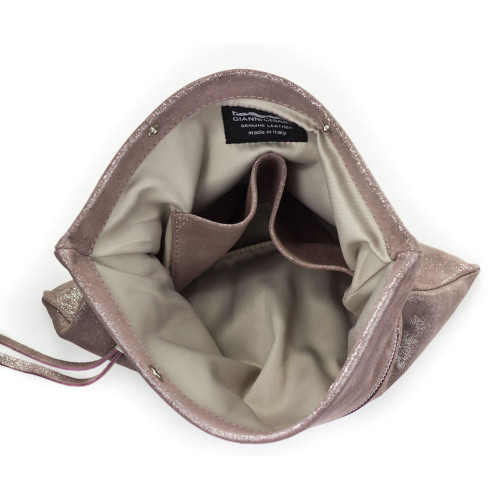 Taupe Leather Clutch Image
