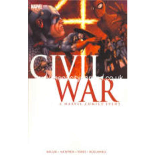 Civil War TP (Panini -Marvel UK)  Image