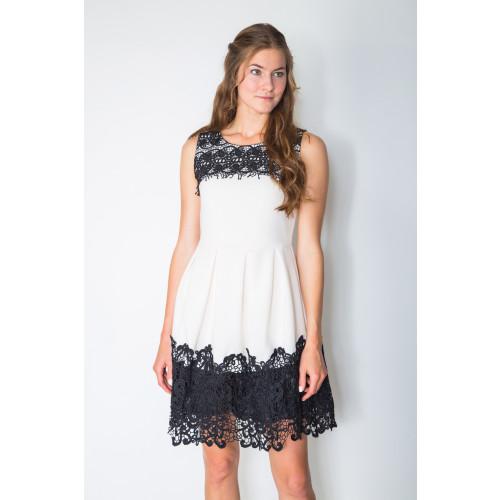 DOUBLE TRIM DRESS Image