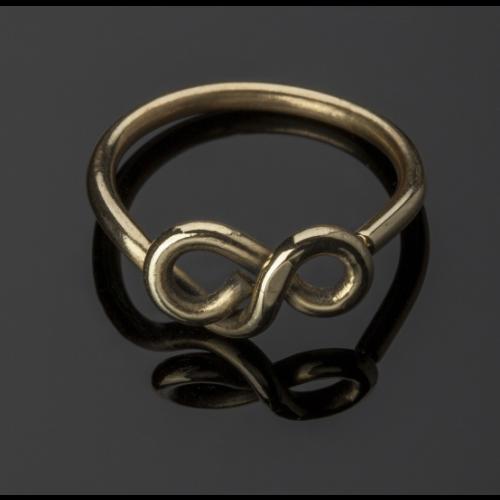 Infinity Brass Ring Image