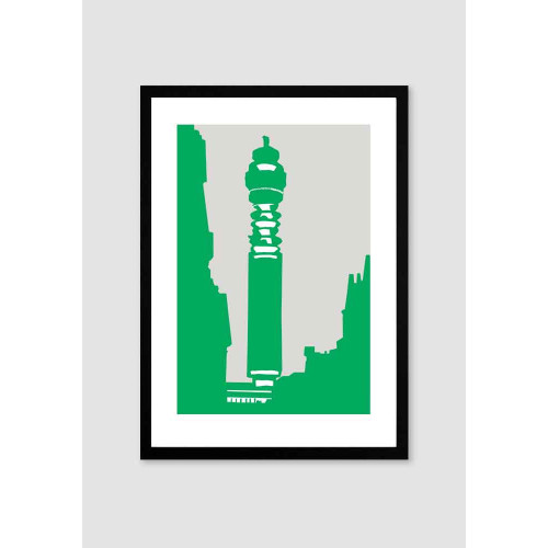 Post Office Tower A4 Print Image