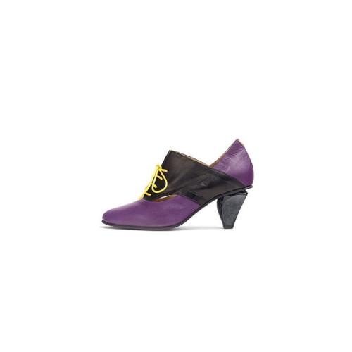 Corato Purple Black Shoe Image