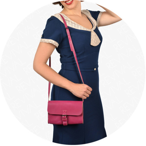 Small Leather Shoulder Bag Image