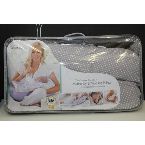 The Original Theraline Maternity and Nursing Pillow - Dotted Image