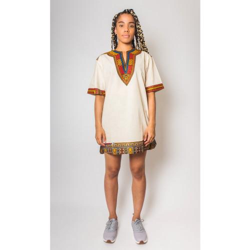 Keneba Dashiki Organic - African Dress - Women's Image