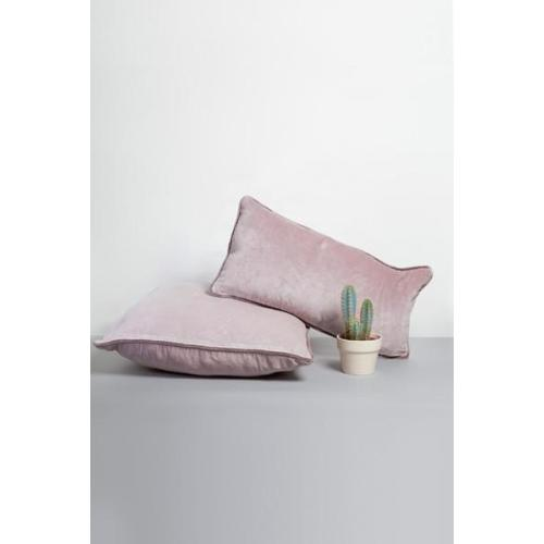 Velvet Cushion Cover: Mauve Slim Image
