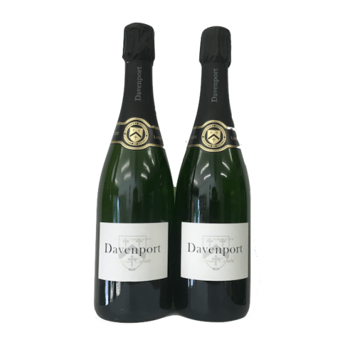 Organic Sparkling Wine Gift: two English sparkling wines from Davenport Image