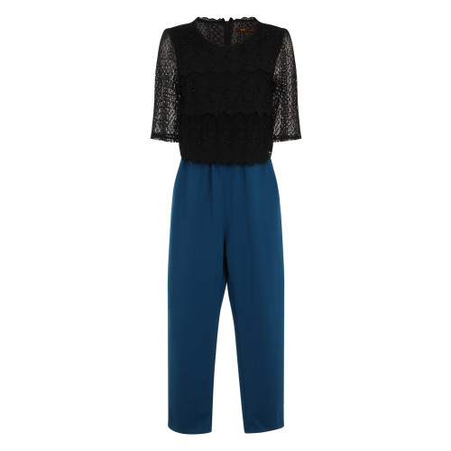 CLASSIC CASUAL COMBO SUIT - BLUE Image