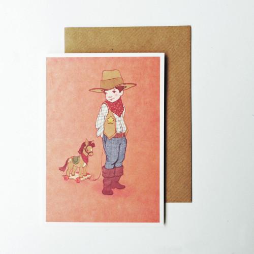 Cowboy card Image