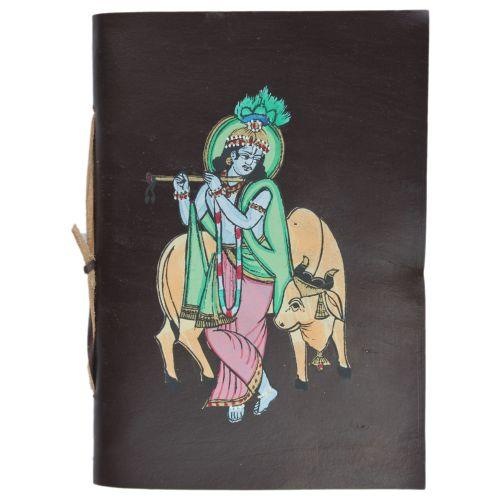 Leather Bound Krishna Journal Image