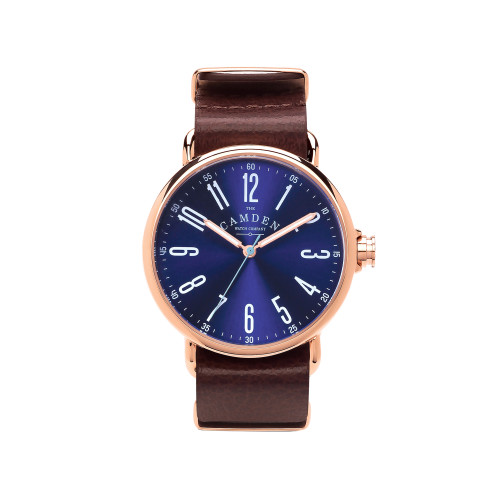 No.88 Rose Gold and Brown Leather Image
