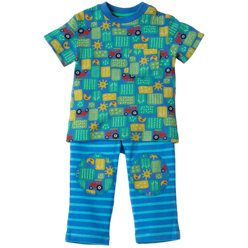 T-Shirt & Trousers - Play Day Outfit - Farm Days Image