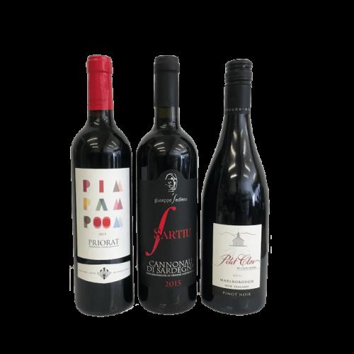 Trio of Customer Most Enjoyed Organic Red Wines (Low Sulphur Wine) Image