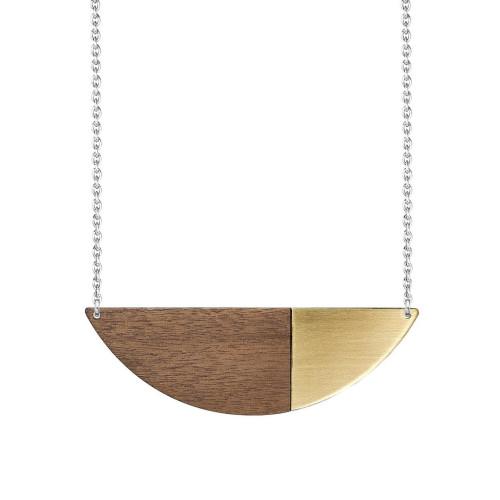 Metal Alexandra Necklace Brass Image