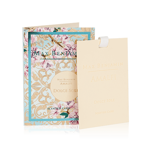 AMALFI DOLCE SOLE SCENTED CARD BY MAX BENJAMIN Image