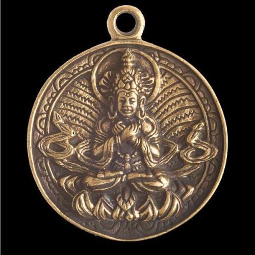 Brass Shiva Pendant Image
