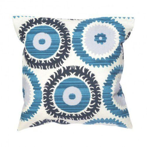 Blue Circles Cushion Cover Image