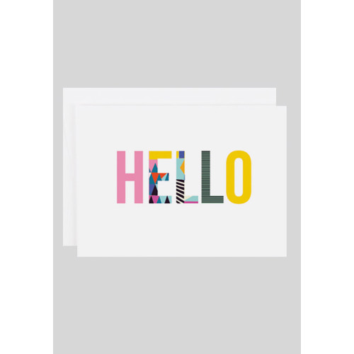 Hello Card by Kitty McCall Image