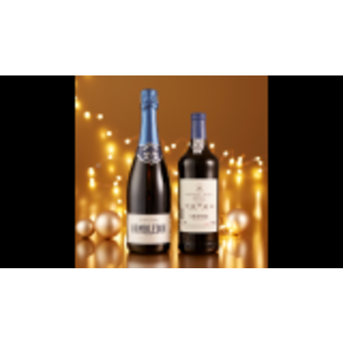 ENGLISH SPARKLING & PORT DUO Image