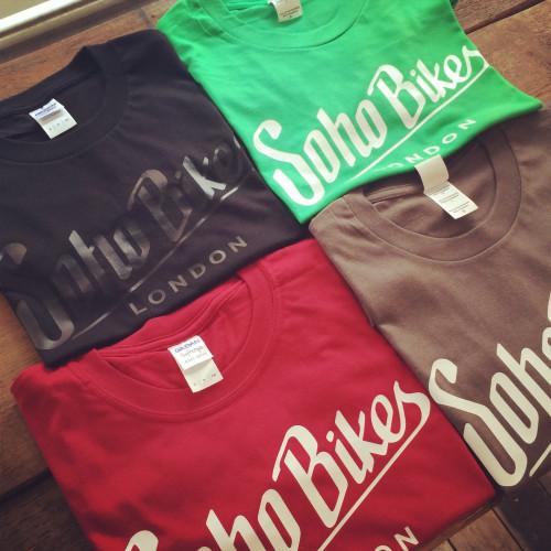 Soho Bikes Mens T-Shirt Image