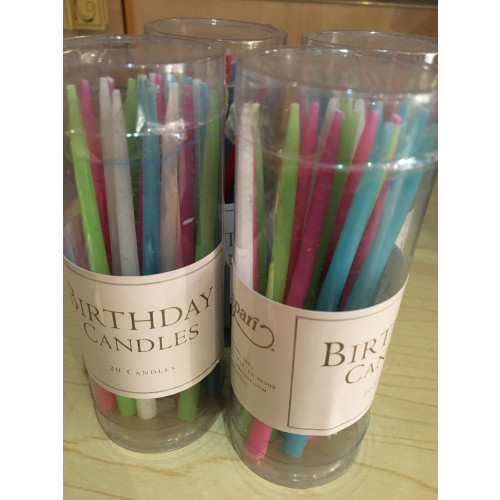Birthday Candles pastels Image