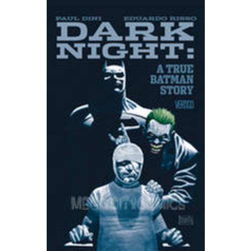 Dark Knight A True Batman Story HC Image