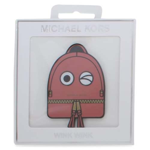 MICHAEL KORS WINK WINK RED LEATHER BAG STICKER Image