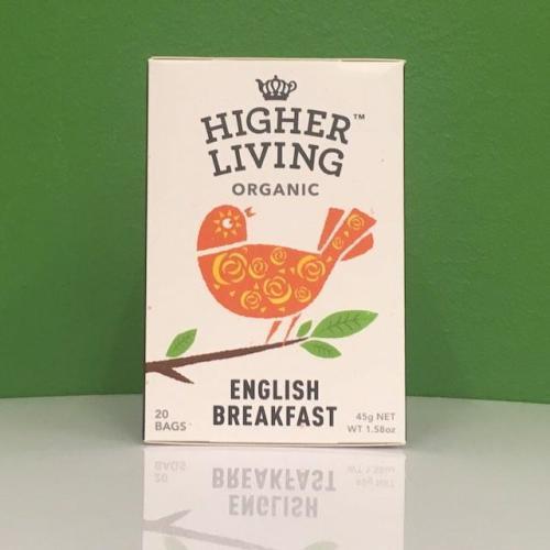 Higher Living Organic English Breakfast Tea Image