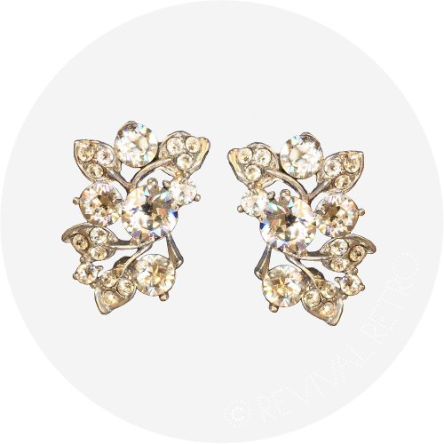 Retro Style Earrings | Vintage Garden Party Image
