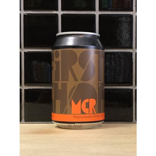 First Chop MCR Bitter Image