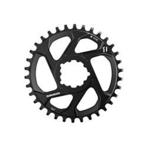 SRAM CHAIN RING EAGLE X-SYNC 32T DIRECT MOUNT 3MM OFFSET BOOST ALUM 12 SPEED BLACK Image