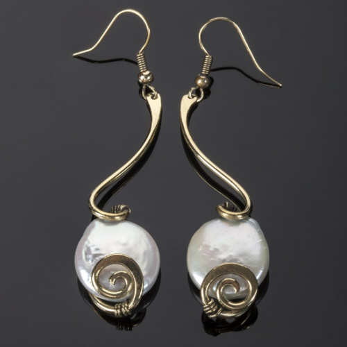 Freshwater Pearl Earrings Image