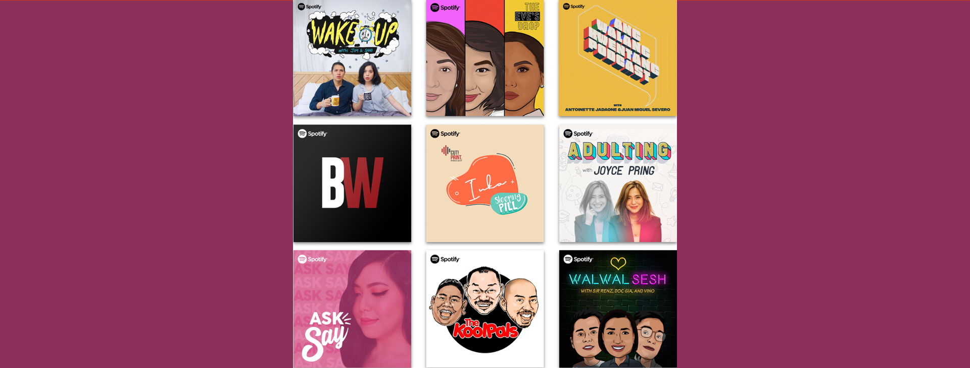 Nine Filipino Fan Favorite Podcasts Join Spotify