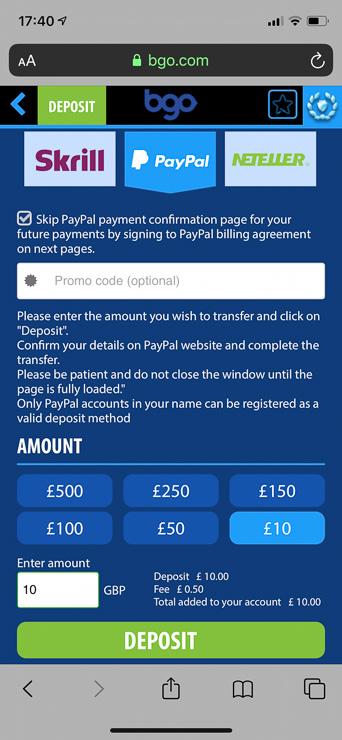 Slots Sites That Accept Paypal
