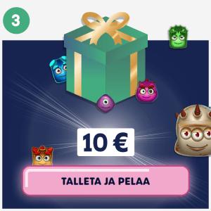 Talleta 10 euroa