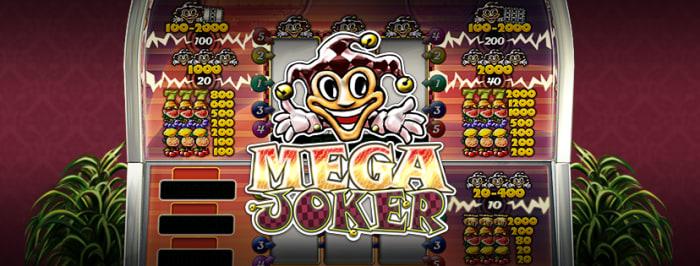 カジ旅カジノのジャックポットゲーム「メガジョーカー」