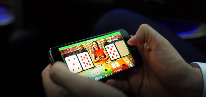 モバイル版のライブカジノゲーム