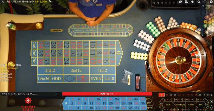 ウィニングキングスカジノのライブカジノ