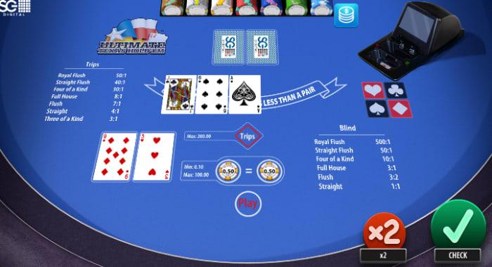 オンラインカジノゲーム「ポーカー」