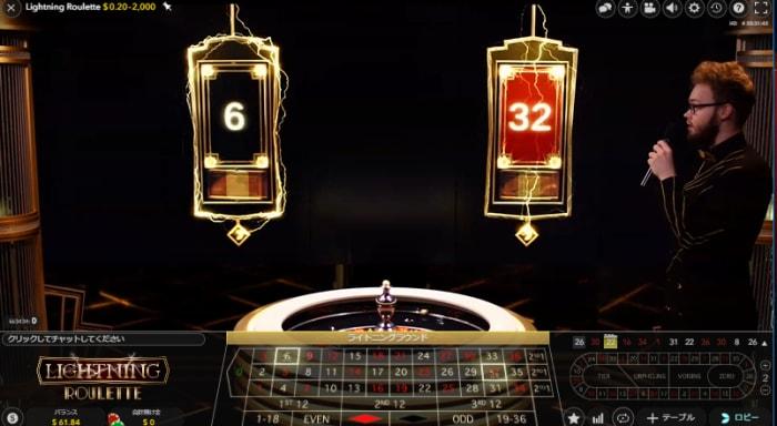 エヴォリューションゲーミング社の大人気ライブカジノゲーム「ライトニングルーレット」