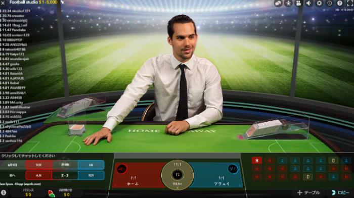 オンラインカジノの大人気ゲーム「ライブカジノ」