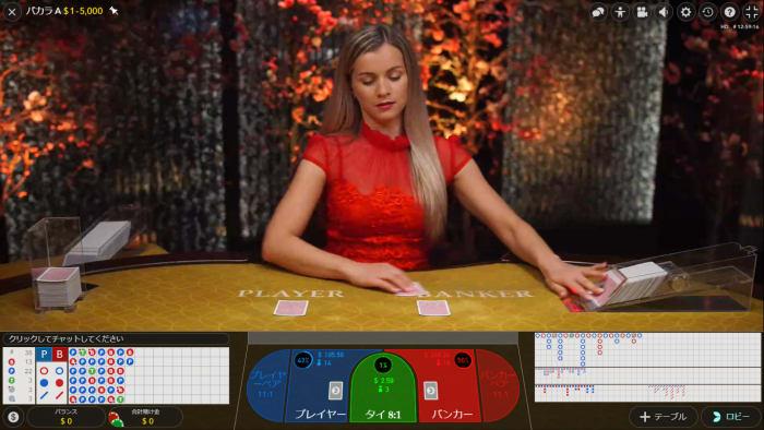 ライブカジノのディーラー