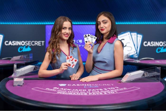 ライブカジノ専用テーブル「カジノシークレットクラブ」